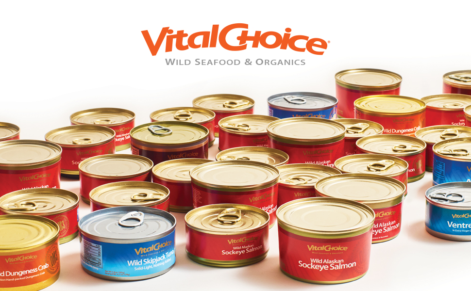Vital Choice Wild Seafood and Organic Food Salmon fresh omega-3 tuna sockeye king coho chinook