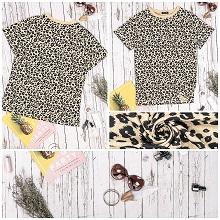 leopard t shirt for women