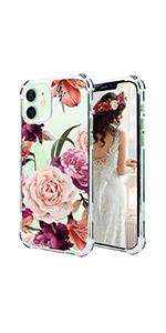 Pink Rose iPhone 12 Case