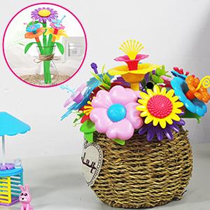 Flower arrangement toys