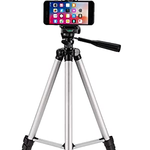 CAMERA MOBILE SELFIE TRIPOD STAND WITH ROTATING TILT PAN UP DOWN MOVEMENT LEVEL WATER 3366 COLOR BIG