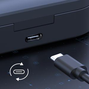 USB Type-C wireless earbuds