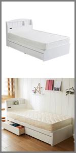 ベッド 収納ベッド ベッドフレーム