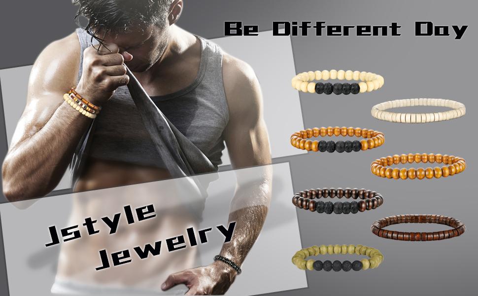 Wooden Bead Bracelet