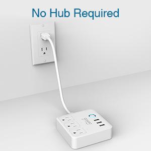 no hub required smart strip