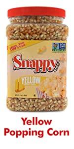 Yellow Popcorn Kernels