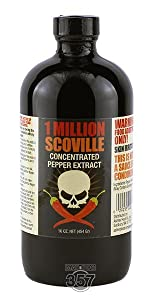 Mad Dog, 1 Million, pepper extract