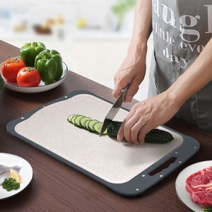 Double-sided cutting board