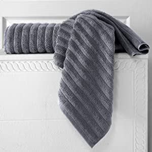 Double Stitched Edge for the extra Soft and extra absorbent Brampton Towel collection for women