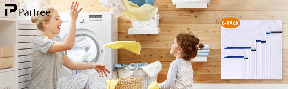 8 Stück Wäschenetze Lifestyle Bild