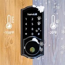 Suitable Harsh Environments  [2020 Newest Version] Keyless Entry Door Lock Deadbolt, Smart Lock Front Door, Electronic Door Locks with Keypads, Digital Auto Lock Bluetooth Smart Door Locks for Homes Bedroom aca1fb79 80db 4539 ac8c a060e9b8ffa5