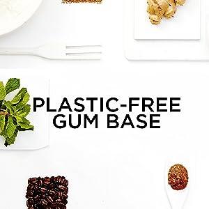 Plastic-free chewing gum