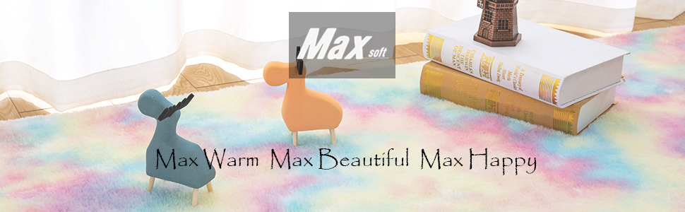 Maxsoft rainbow rug