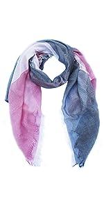 cotton scarf square made in italy giulia biondi