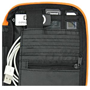 Pocket wallet cable holder SD card sim organizer travel work home man woman rfid new