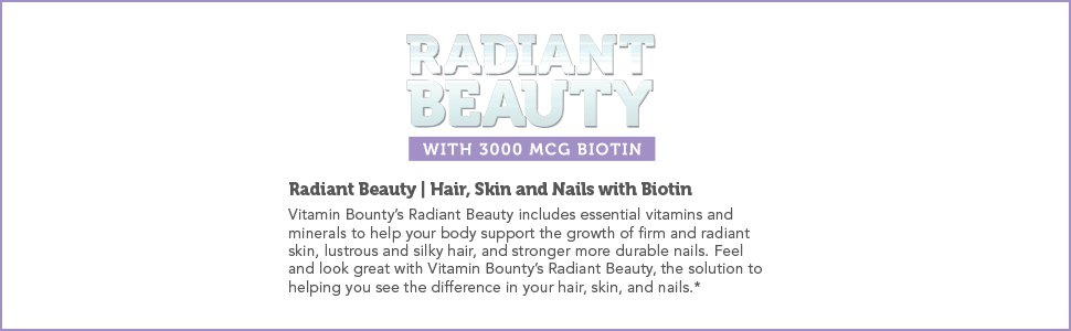 Radiant Beauty Banner Text EBC