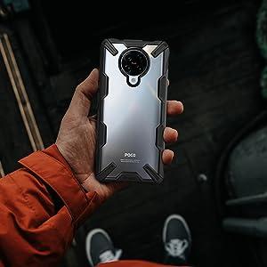 Ringke Fusion X Case Designed for Xiaomi Redmi K30 Pro, Xiaomi Poco F2 Pro (2020)