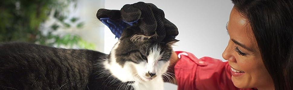 pet washing glove pet hair removal gloves pet fur remover glove