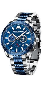 reloj cronografo hombre