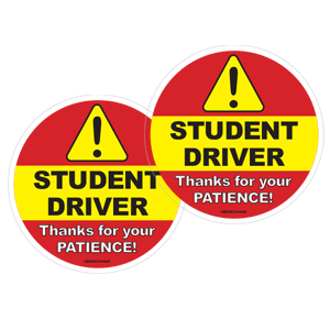 STUDENT DRIVER SIGN FOR CAR