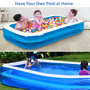 inflatable swimming pools for family
