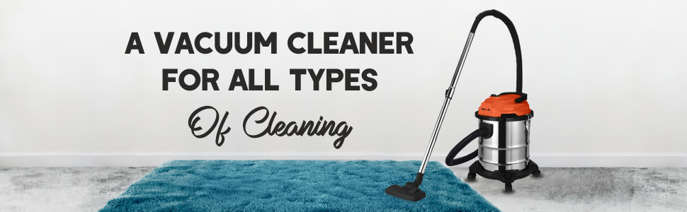 iBELL 2012WB Vacuum Cleaner 20 Litre 1200W with Blower, Wet and Dry (Silver & Black)