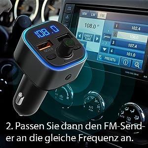 auto radio fm transmitter