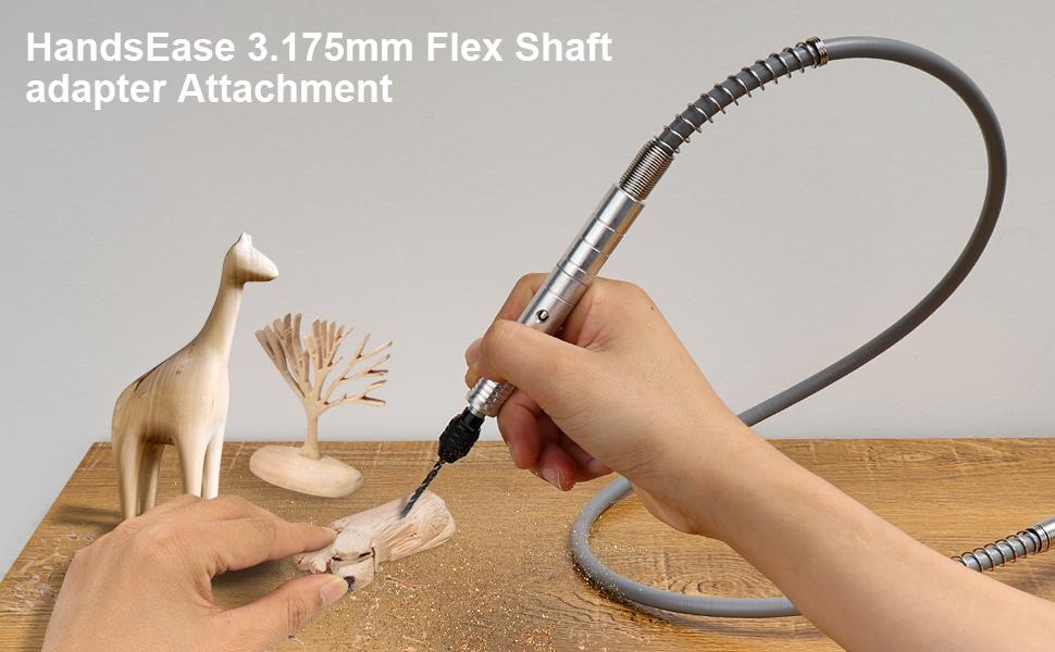 HandsEase 3.175mm Flex Shaft adapter Attachment