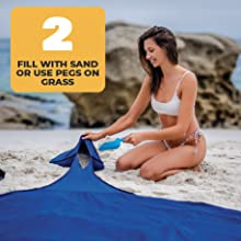 Includes Sand Shovel and grass pegs