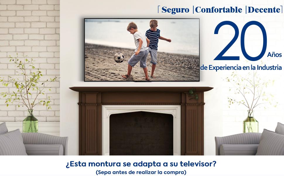 Mounting Dream Soporte de Pared TV Giratorio Inclinable para la ...