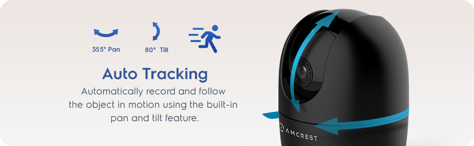 Auto Tracking WiFi Camera