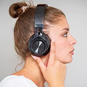 faltbare drahtlose kopfhorer over-ear design drehbare ohrenschutzer bluetooth 5.0 kompatibel iphone