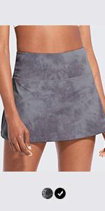 women's 13quot; high waisted tennis skirts