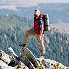 a man on the mountain