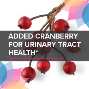 added cranberry for urinary tract health