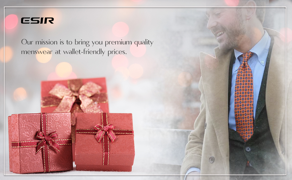 ESIR Our mission is to bring you premium quality menswear at wallet-friendly prices.