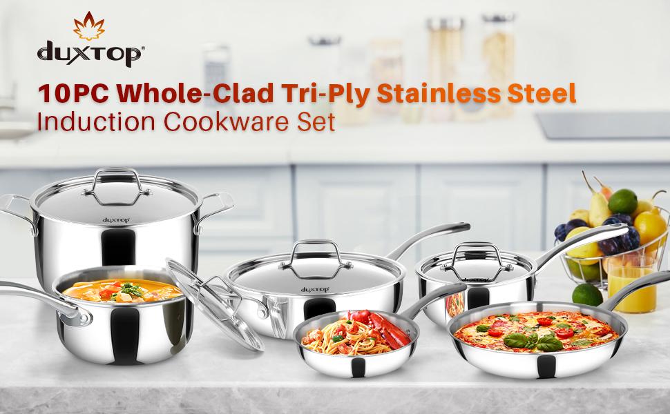 duxtop cookware set