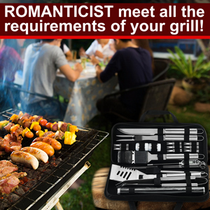 grilling accessoriesbarbecue tool kit Women's gifts  Boyfriend gift bbq gifts bbq tool gift