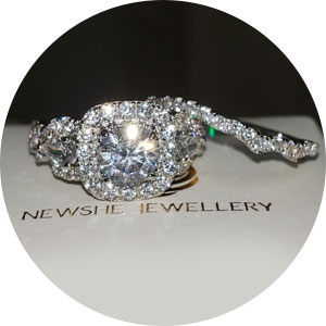 newshe wedding rings for women