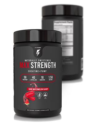 max strength protein powder