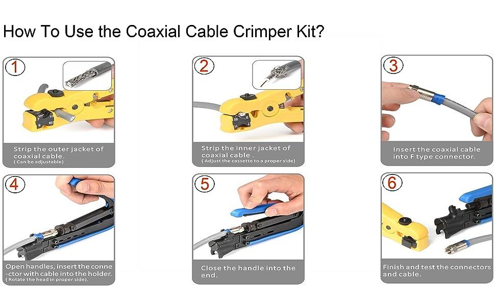Coaxial Compression Tool