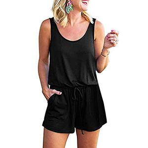 Sleeveless Short Rompers for women