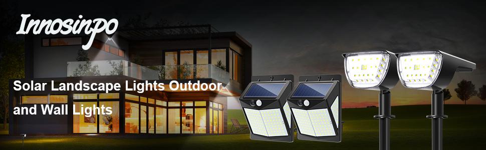 Solar landscape Lights outdoor