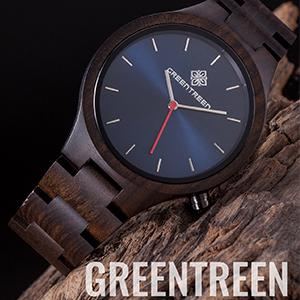 Mens Wooden Watch
