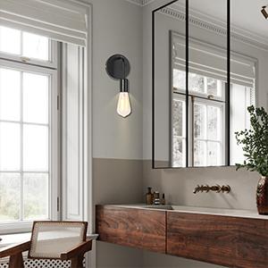 1 Light Lighting Fixtures Mid Century Modern Style Lighting Fixture Industrial Hardwired Wall Lamp