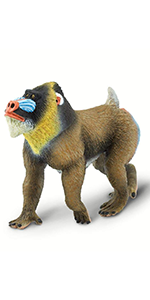 ape figure,safari animal,safari toy,animal toy