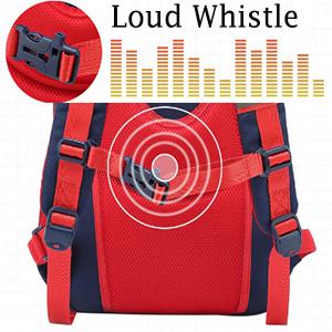 Whistle on Backpack Knapsack