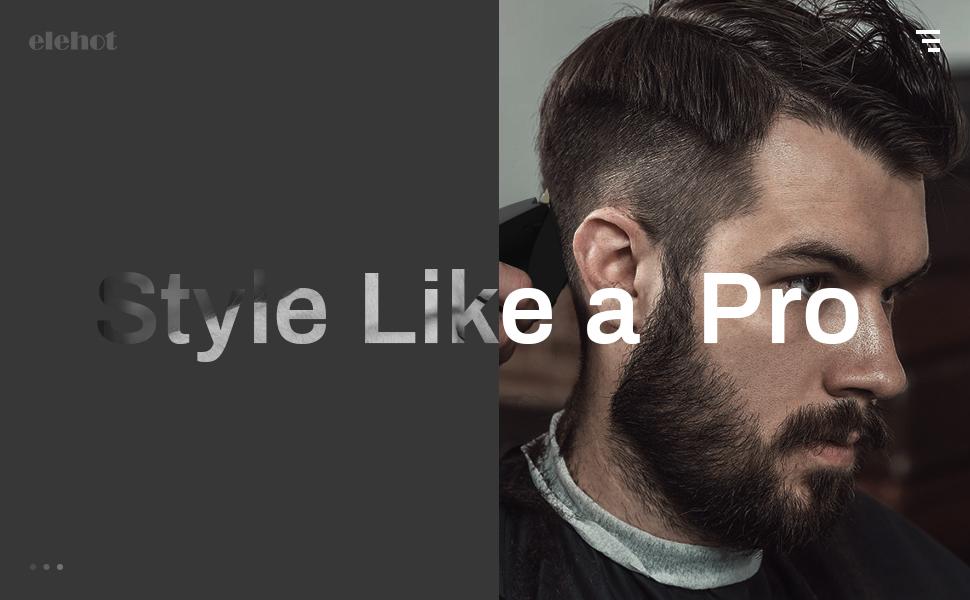 tondeuse cheveux hommes