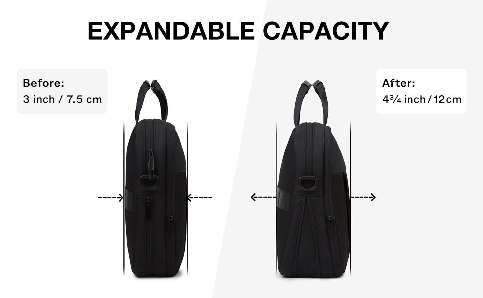 expandable briefcase