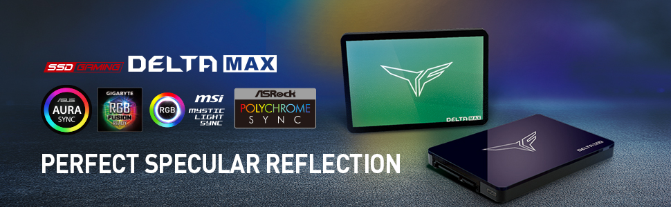 TEAMGROUP DELTA MAX Addressable RGB SSD